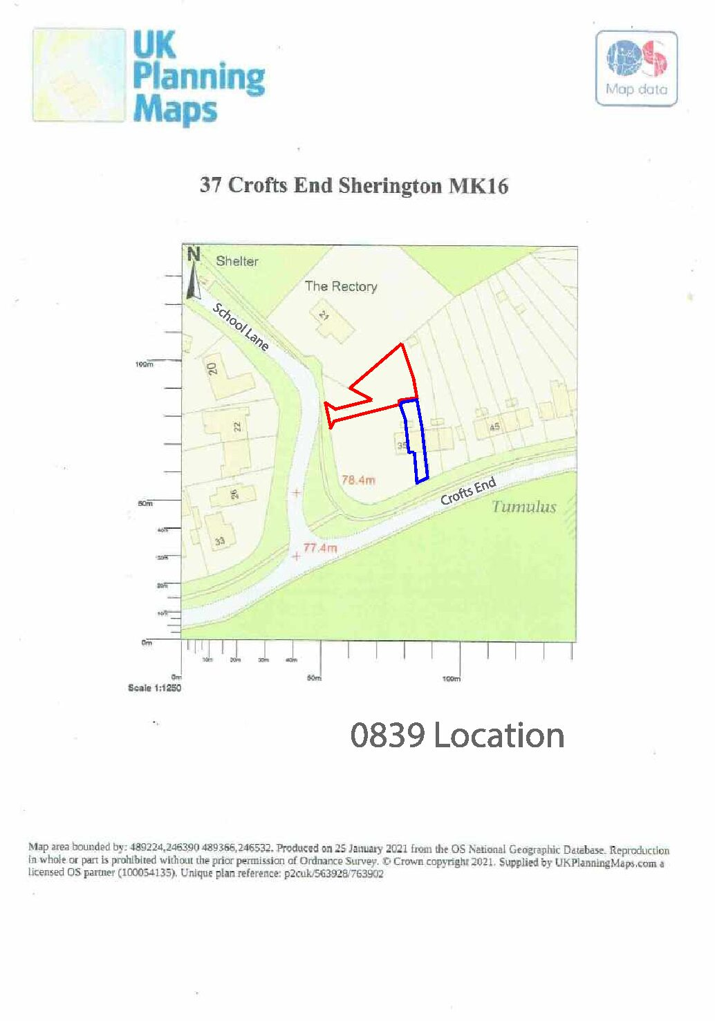 21/01272/FUL | Erection of One x 2-bed bungalow with parking and access off School Lane (resubmission 21/00319/FUL) | 37 Crofts End Sherington Newport Pagnell MK16 9ND